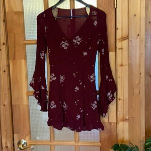 Free people tunic dress, size 4
